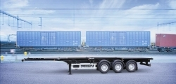 Фото №1:Полуприцеп контейнеровоз СЗАП 9915