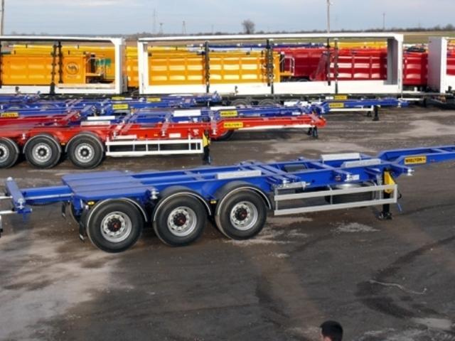 Фото №2:Полуприцеп контейнеровоз Wielton NS34PT-45-R1