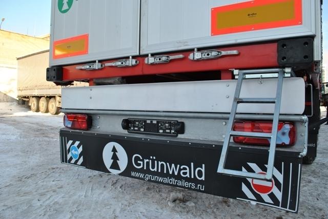 Фото №3:Полуприцеп бортовой шторный Grunwald 9453-10-10