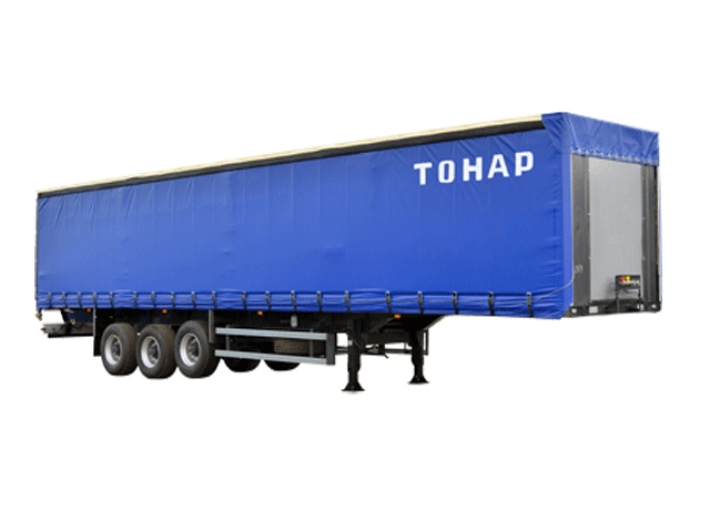 Фото №1:Полуприцеп шторный тентованный Тонар 97461-0000082