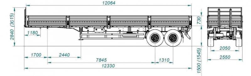 Автомастер 9406 (односкатная ошиновка) 2